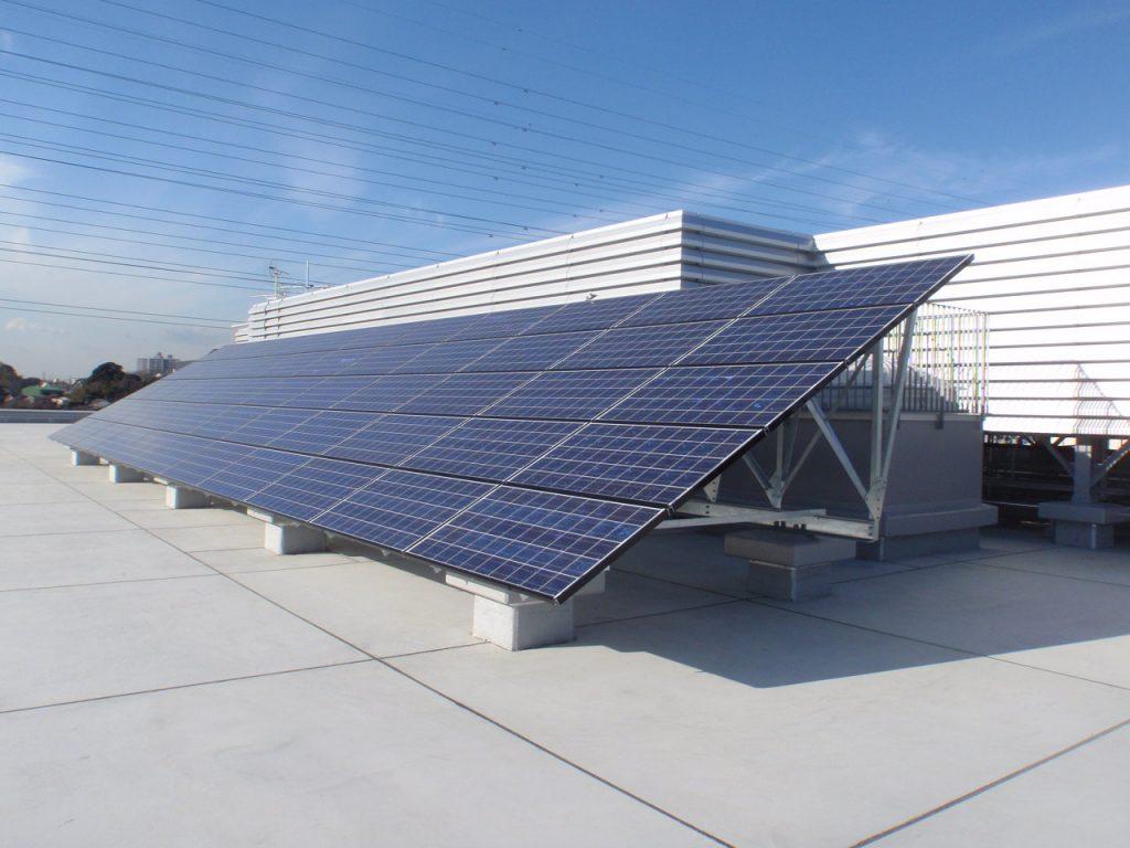 千葉市花見川区保健福祉センター(仮称)太陽光発電設備工事