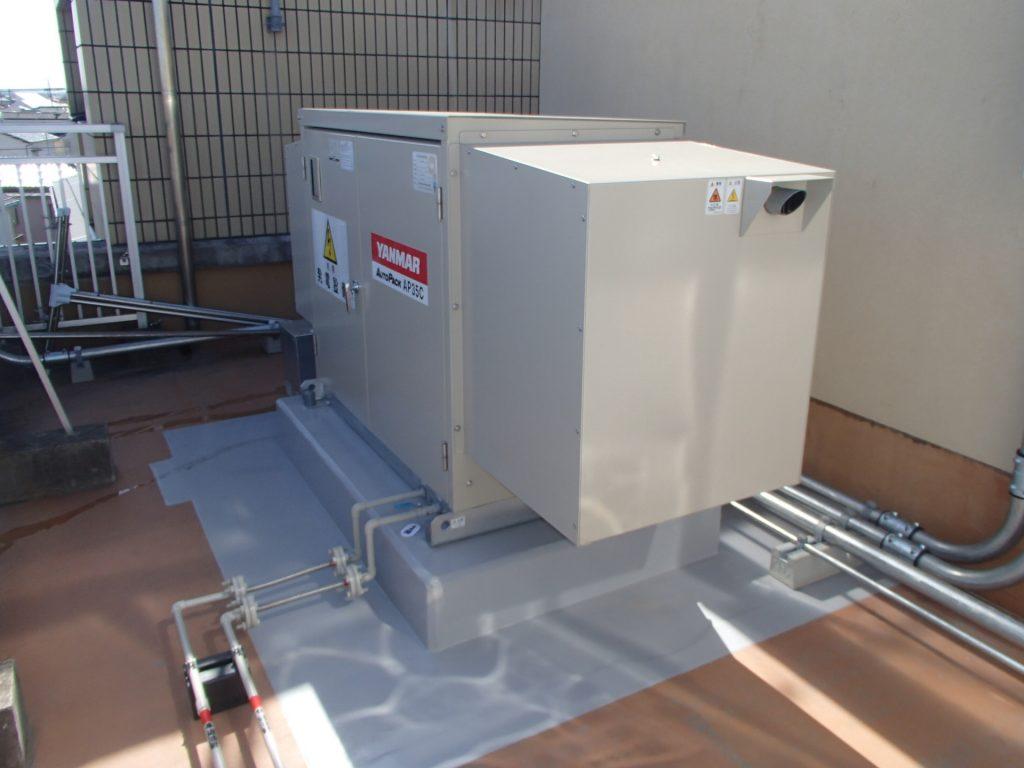 千葉市緑消防署誉田出張所非常用発電機
